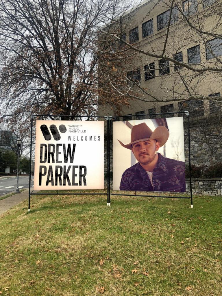 Drew Parker Signs to Warner Music Nashville