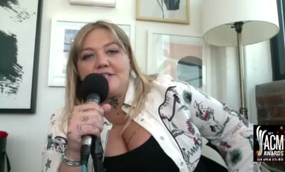 Elle King Interview 2021 ACM Awards Miranada Lambert performance